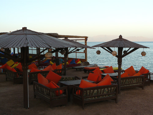 Restaurante con Chill-Out en Dahab, Egipto