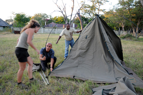Hangwe National Park Campsite